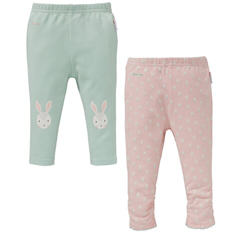 Bornino BASICS 2er-Pack Leggings Hase 1