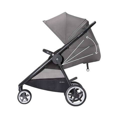 CYBEX GOLD Agis M-Air 3 Sportwagen Design 2018  Lavastone Black 2