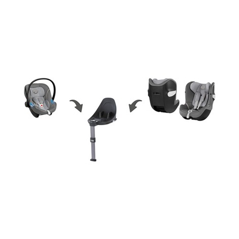 CYBEX GOLD Sirona M2 i-Size Kindersitz mit Isofix-Base M Design 2018  Manhattan Grey 2