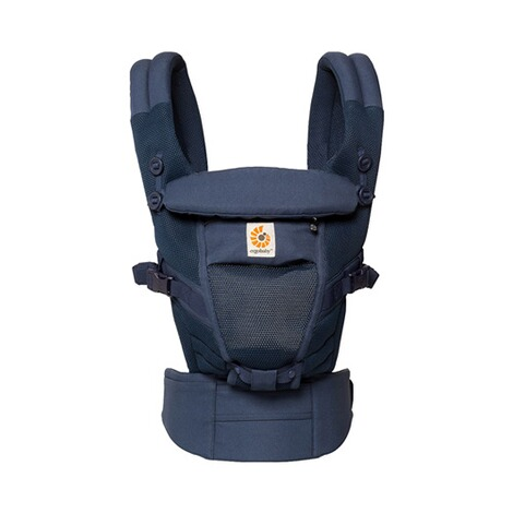 ERGOBABY® ADAPT Cool Air Mesh Babytrage, 3 Tragepositionen  Deep Blue 2