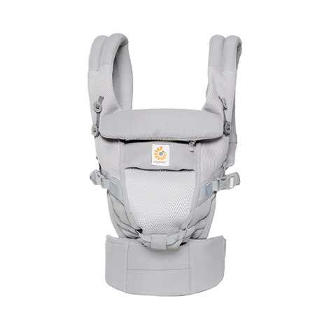 ERGOBABY® ADAPT Cool Air Mesh Babytrage, 3 Tragepositionen  Pearl Grey 2