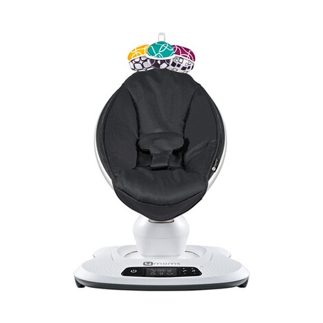 4moms MAMAROO 4 Babywippe 3D  Classic Black 2