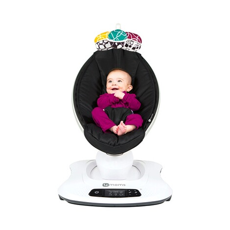 4moms MAMAROO 4 Babywippe 3D  Classic Black 9