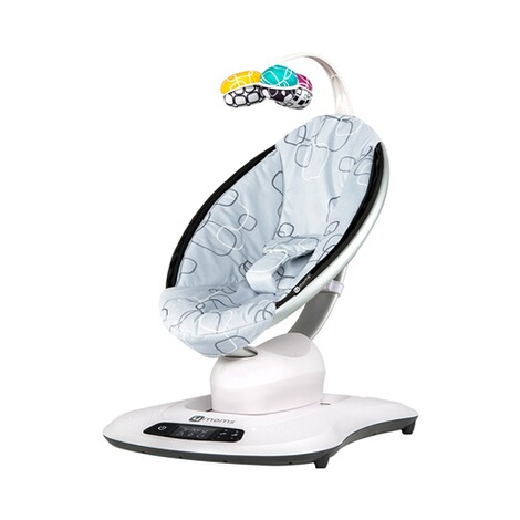 4moms MAMAROO 4 Babywippe 3D  Silver Plush 1