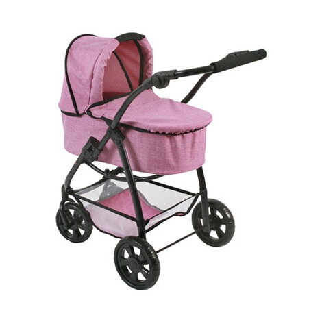 BAYER CHIC  Kombi-Puppenwagen 3 in 1 Emotion All In  jeans/pink 2