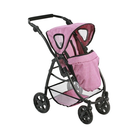 BAYER CHIC  Kombi-Puppenwagen 3 in 1 Emotion All In  jeans/pink 4