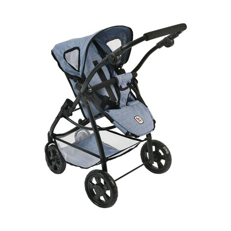 BAYER CHIC  Kombi-Puppenwagen 3 in 1 Emotion All In  jeans/blau 3