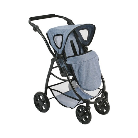 BAYER CHIC  Kombi-Puppenwagen 3 in 1 Emotion All In  jeans/blau 4