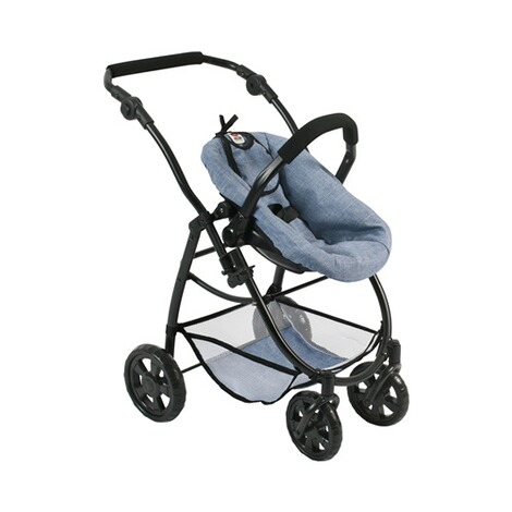 BAYER CHIC  Kombi-Puppenwagen 3 in 1 Emotion All In  jeans/blau 5