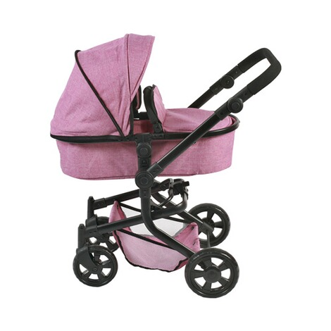 Bayer Chic  Kombi-Puppenwagen Mika  jeans/pink 2