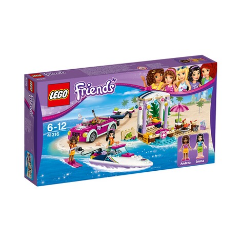 LEGO® FRIENDS 41316 Andreas Rennboot-Transporter 1