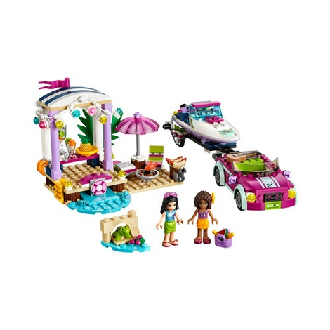 LEGO® FRIENDS 41316 Andreas Rennboot-Transporter 2