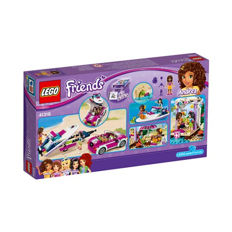 LEGO® FRIENDS 41316 Andreas Rennboot-Transporter 3