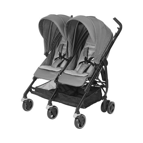 MAXI-COSI DANA FOR 2 Zwillings- und Geschwisterbuggy Design 2018  Nomad Grey 1