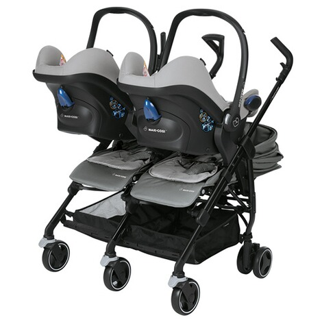 MAXI-COSI DANA FOR 2 Zwillings- und Geschwisterbuggy Design 2018  Nomad Grey 4