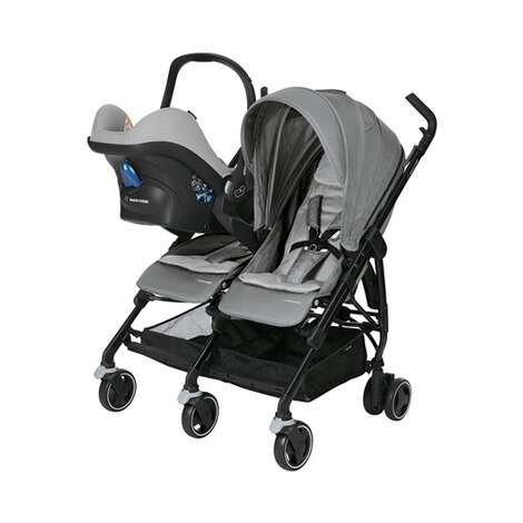 MAXI-COSI DANA FOR 2 Zwillings- und Geschwisterbuggy Design 2018  Nomad Grey 3