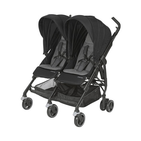 MAXI-COSI DANA FOR 2 Zwillings- und Geschwisterbuggy Design 2018  Nomad Black 1