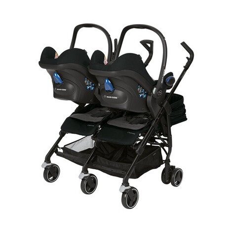 MAXI-COSI DANA FOR 2 Zwillings- und Geschwisterbuggy Design 2018  Nomad Black 2