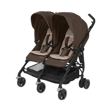 MAXI-COSI DANA FOR 2 Zwillings- und Geschwisterbuggy Design 2018  Nomad Brown 1