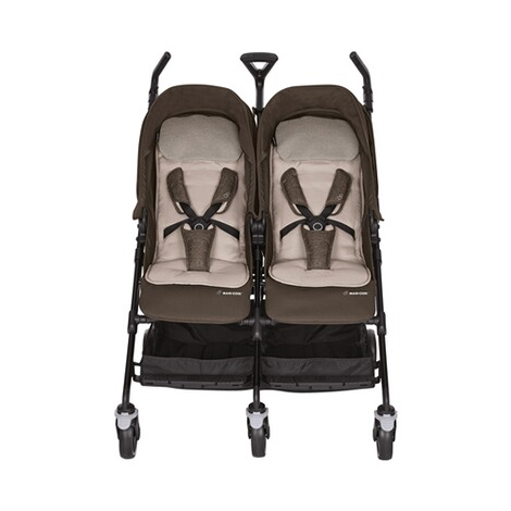MAXI-COSI DANA FOR 2 Zwillings- und Geschwisterbuggy Design 2018  Nomad Brown 2