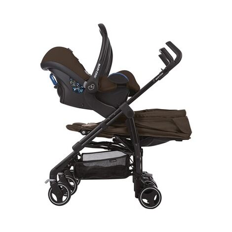 MAXI-COSI DANA FOR 2 Zwillings- und Geschwisterbuggy Design 2018  Nomad Brown 7