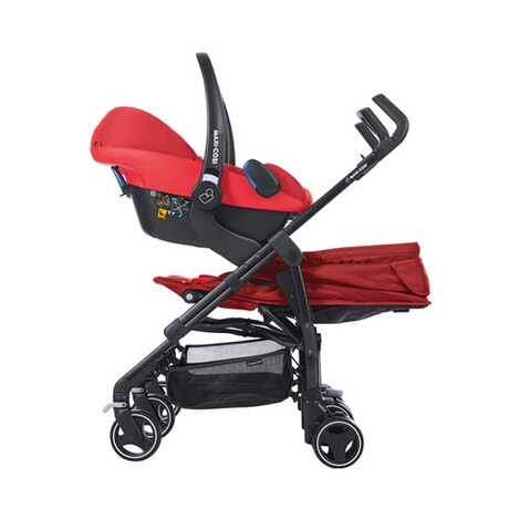 MAXI-COSI DANA FOR 2 Zwillings- und Geschwisterbuggy Design 2018  Vivid Red 9