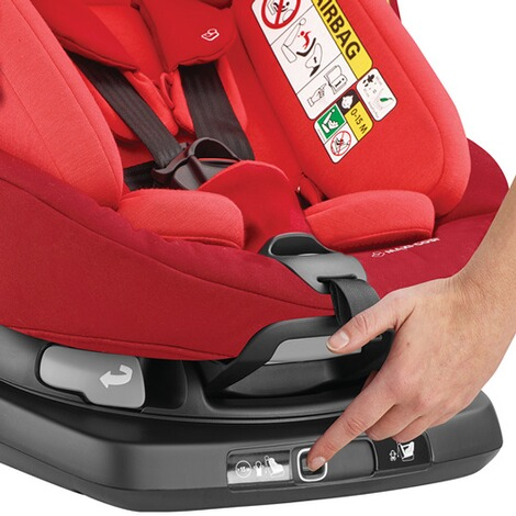 MAXI-COSI AXISSFIX PLUS i-Size Kindersitz Design 2018  Vivid Red 6