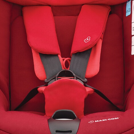 MAXI-COSI AXISSFIX PLUS i-Size Kindersitz Design 2018  Vivid Red 8