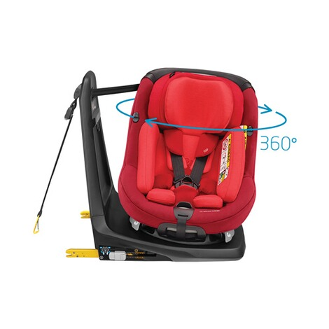 MAXI-COSI AXISSFIX PLUS i-Size Kindersitz Design 2018  Vivid Red 10