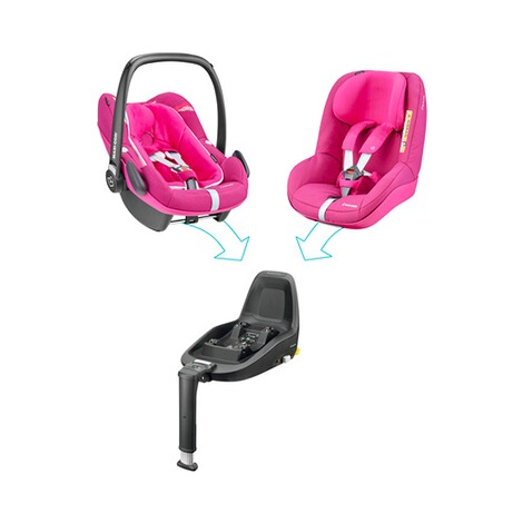Maxi-Cosi  2Way Pearl Kindersitz  Frequency Pink 7