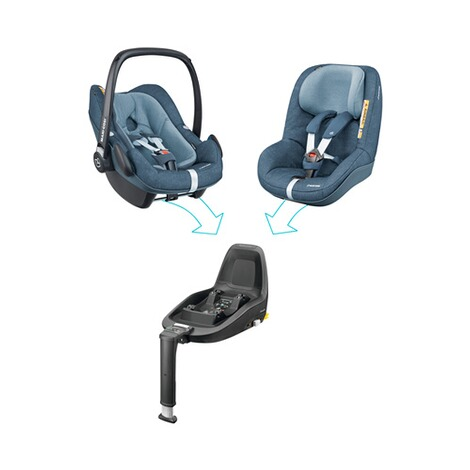 Maxi-Cosi  2Way Pearl Kindersitz  Nomad Blue 10