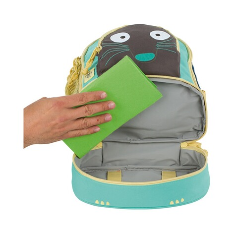 LÄSSIG  Kinderrucksack Mini Backpack Wild Animals  Meerkat 6