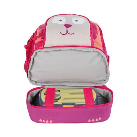 LÄSSIG  Kinderrucksack Mini Backpack Wild Animals  Lion 6