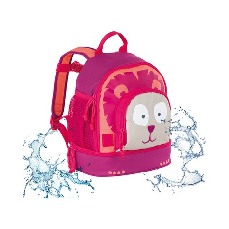 LÄSSIG  Kinderrucksack Mini Backpack Wild Animals  Lion 5