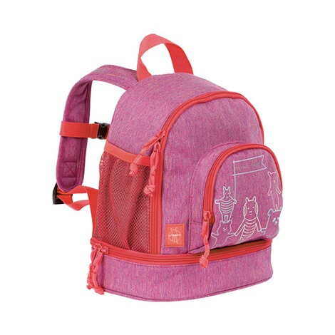 LÄSSIG  Kinderrucksack Mini Backpack About Friends  mélange pink 1