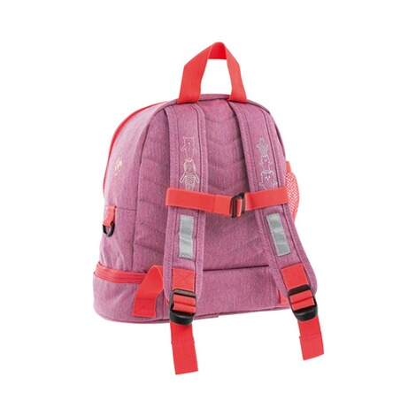 LÄSSIG  Kinderrucksack Mini Backpack About Friends  mélange pink 2