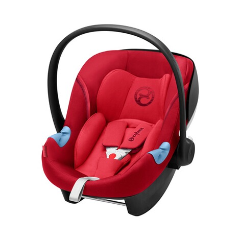 Cybex GOLD Aton M i-Size Babyschale  Rebel Red 1