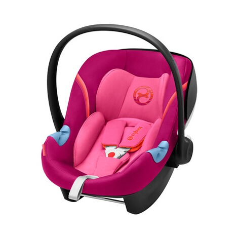 Cybex GOLD Aton M i-Size Babyschale  Passion Pink 1