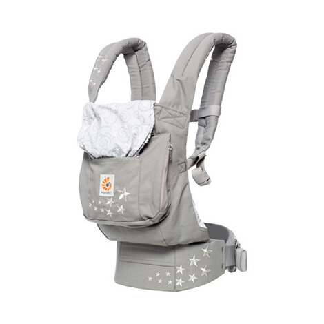 ERGOBABY® ORIGINAL Babytrage, 3 Tragepositionen  Galaxy Grey 1