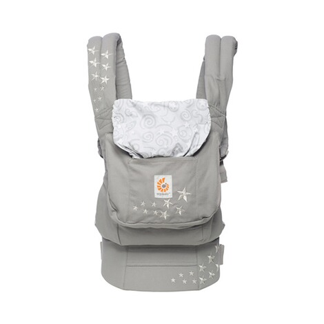 ERGOBABY® ORIGINAL Babytrage, 3 Tragepositionen  Galaxy Grey 2