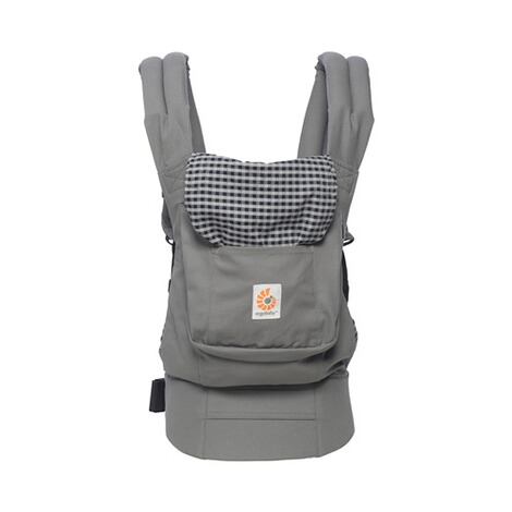 ERGOBABY® ORIGINAL Babytrage, 3 Tragepositionen  Steel Plaid 2