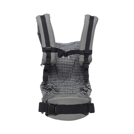 ERGOBABY® ORIGINAL Babytrage, 3 Tragepositionen  Steel Plaid 3