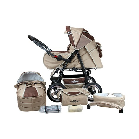 BERGSTEIGER  Rio Kombikinderwagen  coffee/brown 1