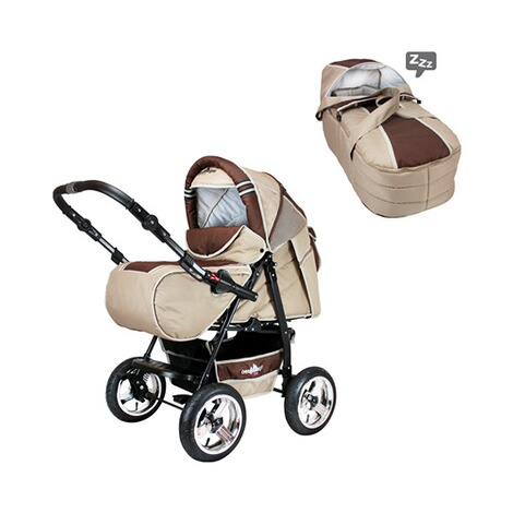 BERGSTEIGER  Rio Kombikinderwagen  coffee/brown 3