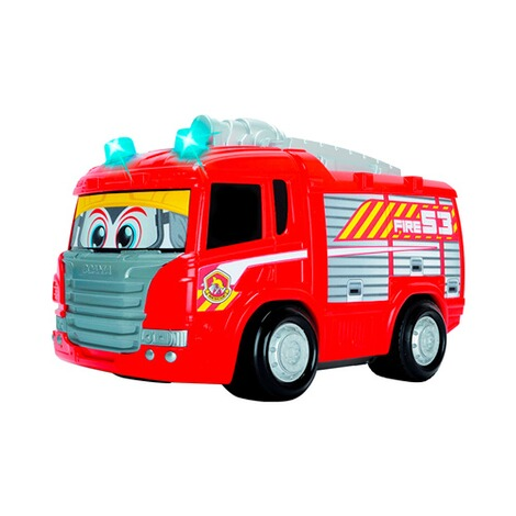 dickie toys rc feuerwehrauto happy scania fire engine online kaufen baby walz. Black Bedroom Furniture Sets. Home Design Ideas