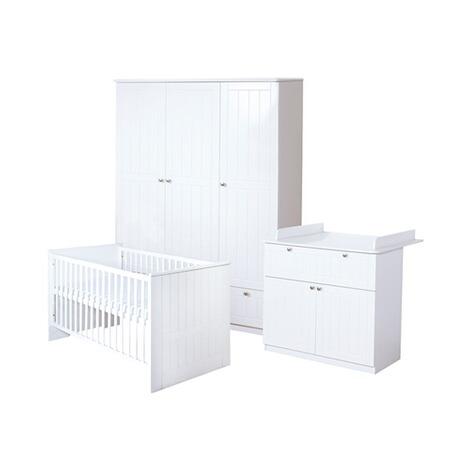 Roba 3 tlg babyzimmer dreamworld 3 breit online kaufen baby walz - Roba babyzimmer ...