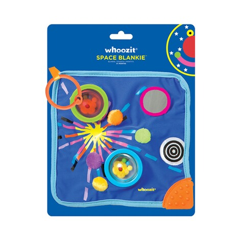 MANHATTAN TOY  Schmusetuch Whoozit Space Blankie 5