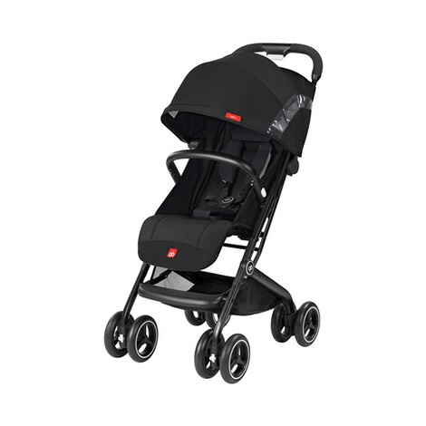 GB GOLD Qbit+ Buggy mit Liegefunktion  Satin Black 1