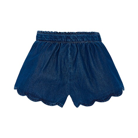 MAYORAL  Jeans-Shorts Blumenstickerei 2