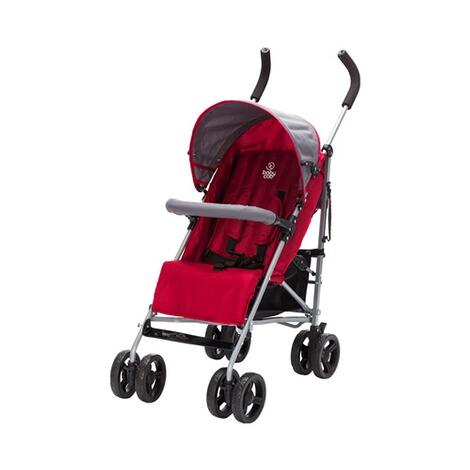 BABYCAB  Tom Buggy mit Liegefunktion  rot 1